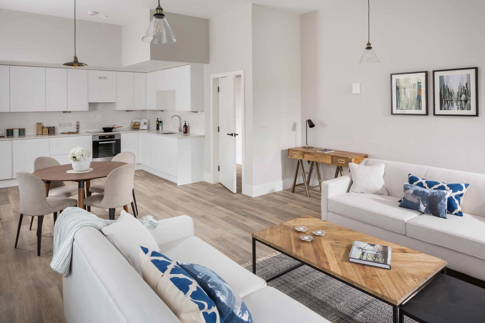 The Show Home Open Plan Living