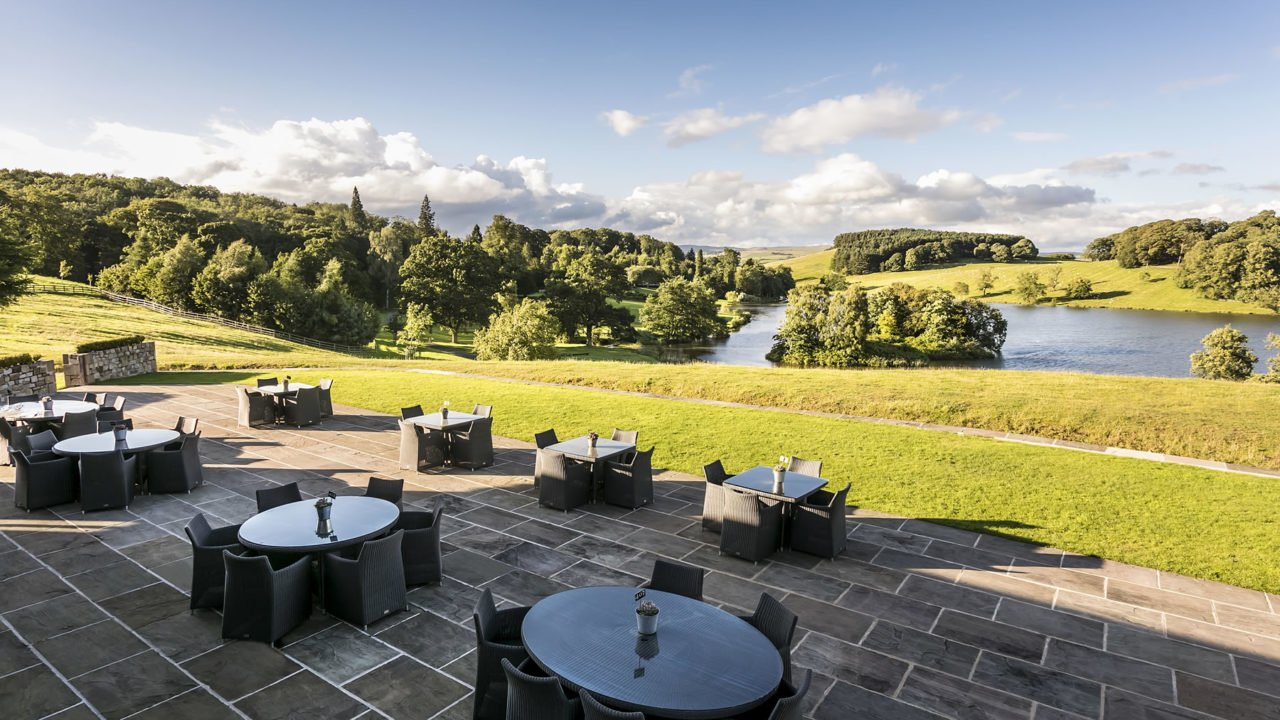 The Coniston Hotel Terrace