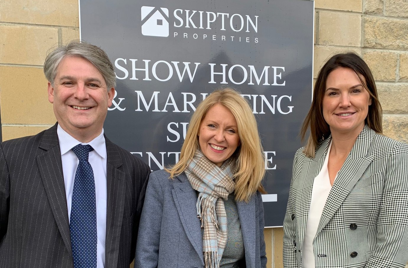 Esther McVey and Philip Davies visit The Exchange, Shipley